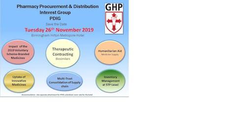 PDIG Autumn Symposium 26 November 2019 tickets