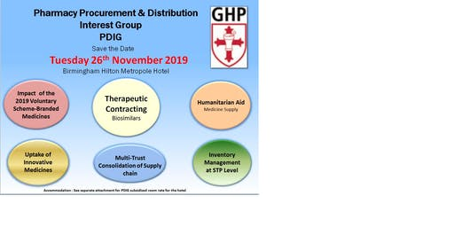 PDIG Autumn Symposium 26 November 2019