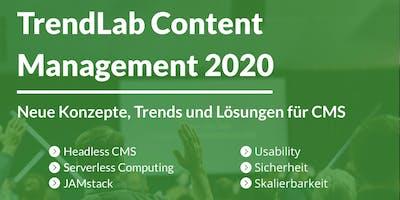 TrendLab Content Management 2020 - Stuttgart