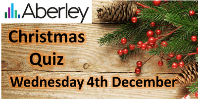 Aberley Workplace Christmas Quiz (previously WCO quiz!)
