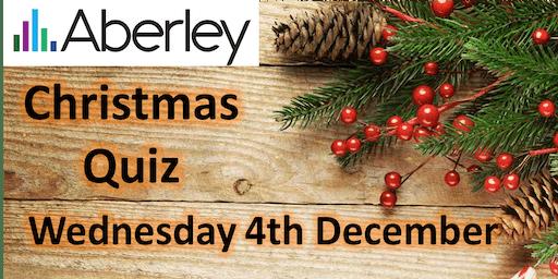 Aberley Workplace Christmas Quiz (previously WCO quiz!)