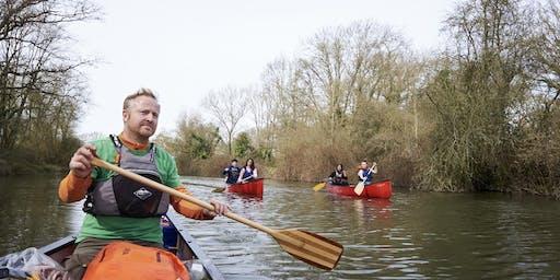 Canoe the Goring Gap