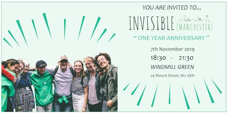 Invisible (Manchester)'s First Anniversary tickets
