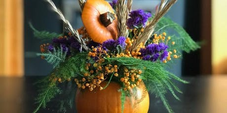Pumpkin Posy Workshop for KIDS tickets