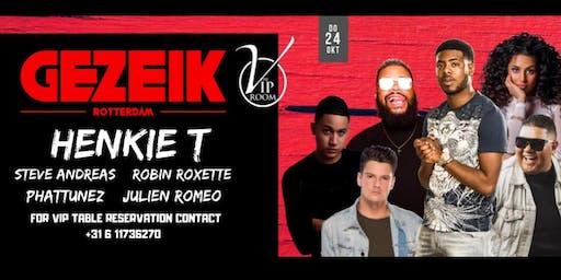 GEZEIK x Henkie T - The VIP Room