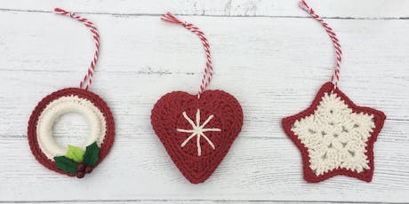 Crochet Christmas Decorations tickets