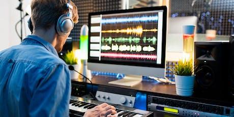 Masterclass gratuita - Produrre Musica nel proprio Home/Project Studio biglietti