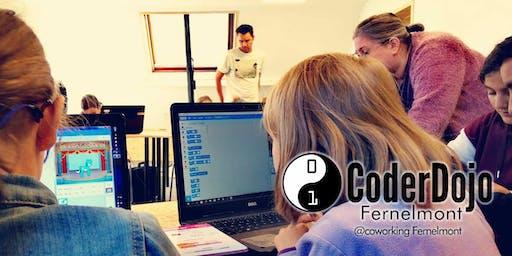 CoderDojo Fernelmont - 26/10/2019 @CoworkingFernelmont