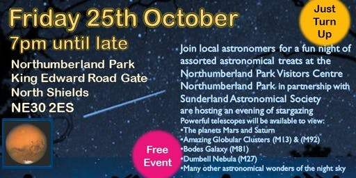 Stargazing at Northumberland Park