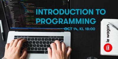 Introduction to Programming with Le Wagon