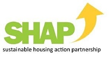 SHAP (Sustainable Housing Action Partnership) logo