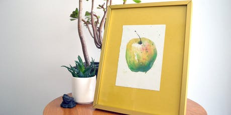 Watercolour Painting Fruit tickets