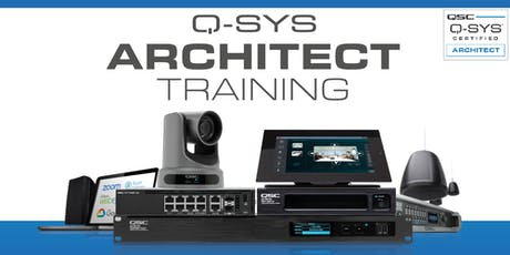 QSC Architect Classroom Training tickets
