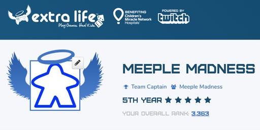 Extra Life Charity Gaming Marathon