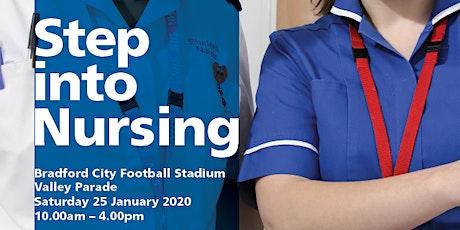 Step into Nursing tickets