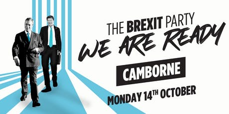 The Brexit Party — Camborne tickets