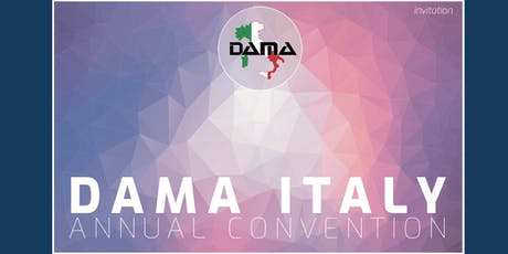 DAMA Italy Annual Convention 2019 tickets