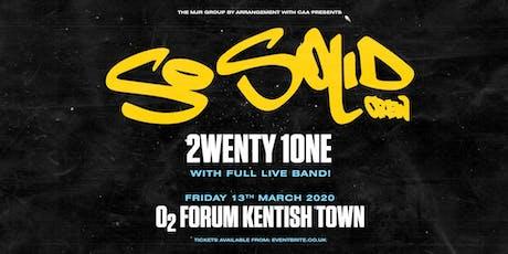 So Solid Crew (O2 Forum, London) tickets
