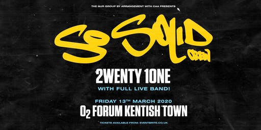 So Solid Crew (O2 Forum, London)