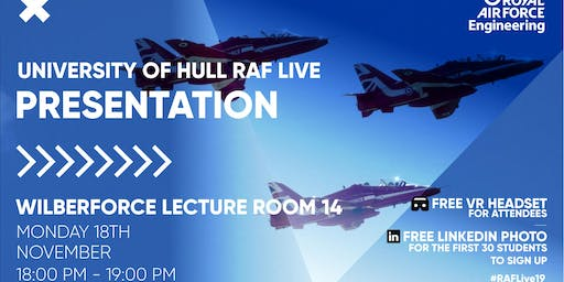 RAF LIVE PRESENTATION - University of Hull
