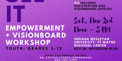 You Can Make It Books: Vision Board and Youth Empowerment Workshop