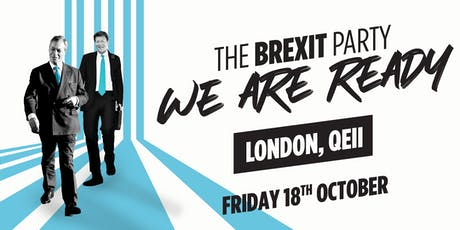 The Brexit Party ⁠— London tickets