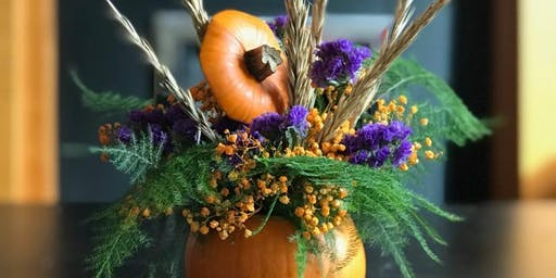 Pumpkin Posy Workshop for KIDS