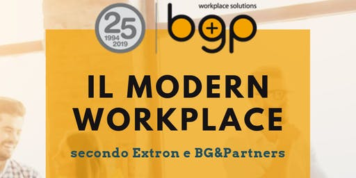Il Modern workplace secondo Extron e BG&Partners