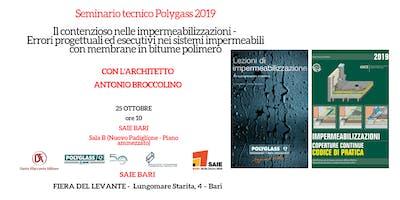 Seminario tecnico Polyglass 2019