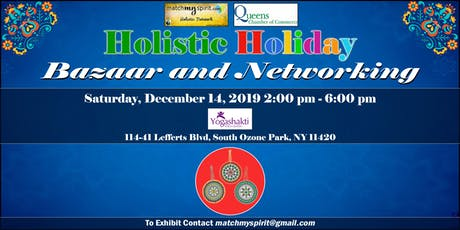 Free Holistic Bazaar in Queens ! tickets