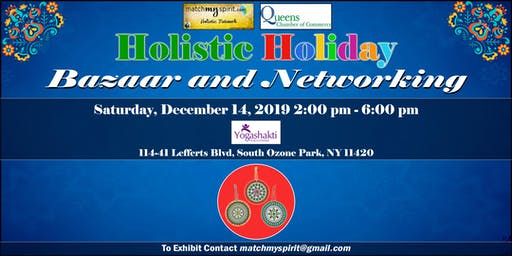 Free Holistic Bazaar in Queens !