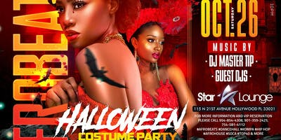 AFROBEAT HALLOWEEN COSTUME PARTY