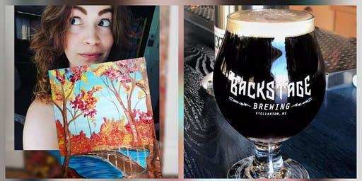 Brushstrokes And Beer
