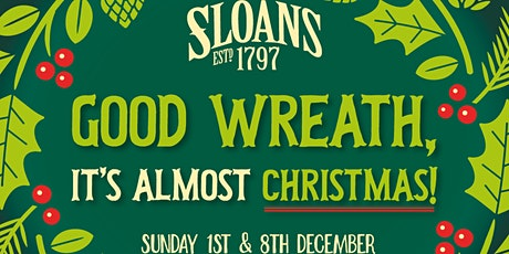 Christmas Wreath Making with Under the Pear tree tickets