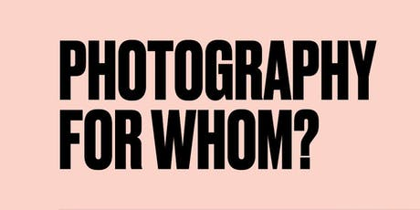 Photography for Whom? with Anthony Luvera tickets