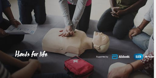Hands for life: Restart a Heart