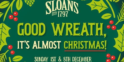 Christmas Wreath Making with Under the Pear tree - SOLD OUT