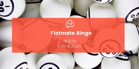 Flatmate Bingo tickets