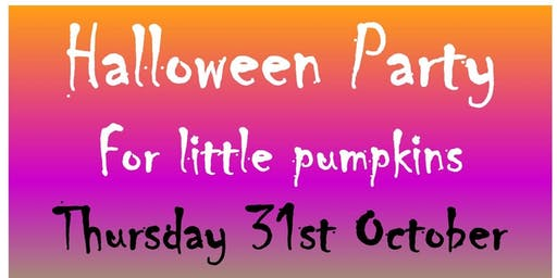 Darlington Libraries: Halloween Party for Little Pumpkins