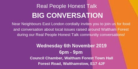 Real People Honest Talk Big Conversation tickets