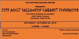 Halloween Cabaret Fundraiser