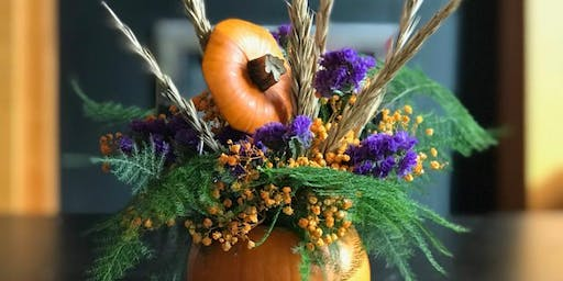 Pumpkin Posy Workshop