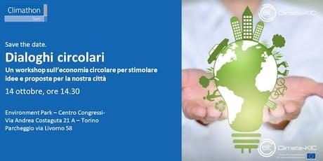 Warming up Climathon. Dialoghi circolari: idee e esperienze a confronto biglietti