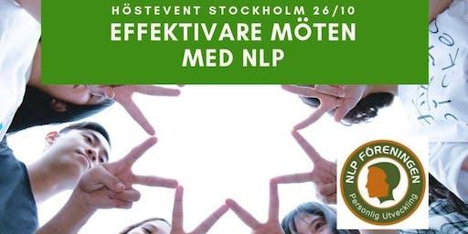 Effektivare möten med NLP