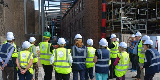 Derby Silk Mill Hard Hat Tours for Lottery Players