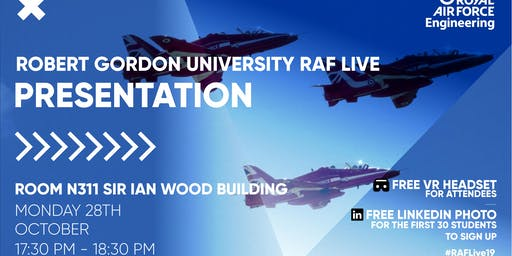 RAF LIVE PRESENTATION - Robert Gordon University