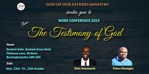 GOF Word Conference