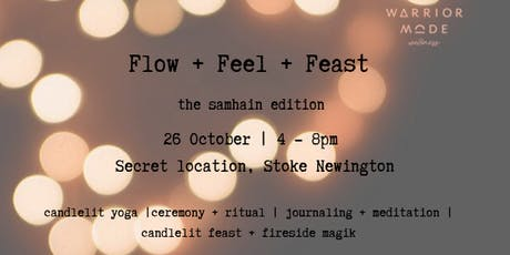 Flow + Feel  + Feast | Half Day Yoga Retreat tickets