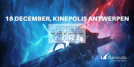Barracuda | Voorpremière van Star Wars: Rise of the Skywalker entradas