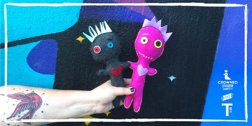 Crowned Sparrow Co.: That Voodoo That You Do Doll